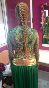 serpiente espalda