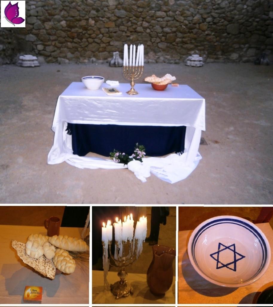 El altar para los novios