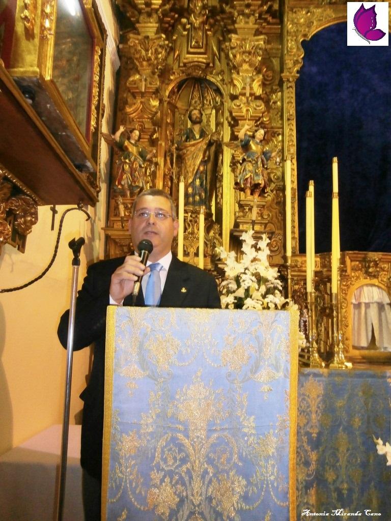 Hermano Mayor de la Cofradia Don Antonio Muñoz