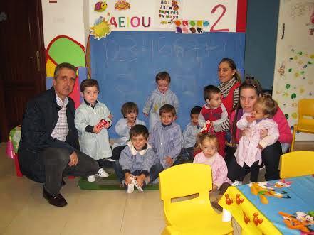 Juan Perez en su faceta más humana visitando Educateka Lorena
