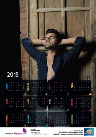 Miguel Angel Olivares protagoniza el Calendario Benéfico de APAMA LUCENA