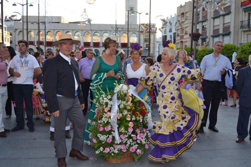 OFRENDA DE FLORES A MARIA SANTISIMA DE ARACELI 2015