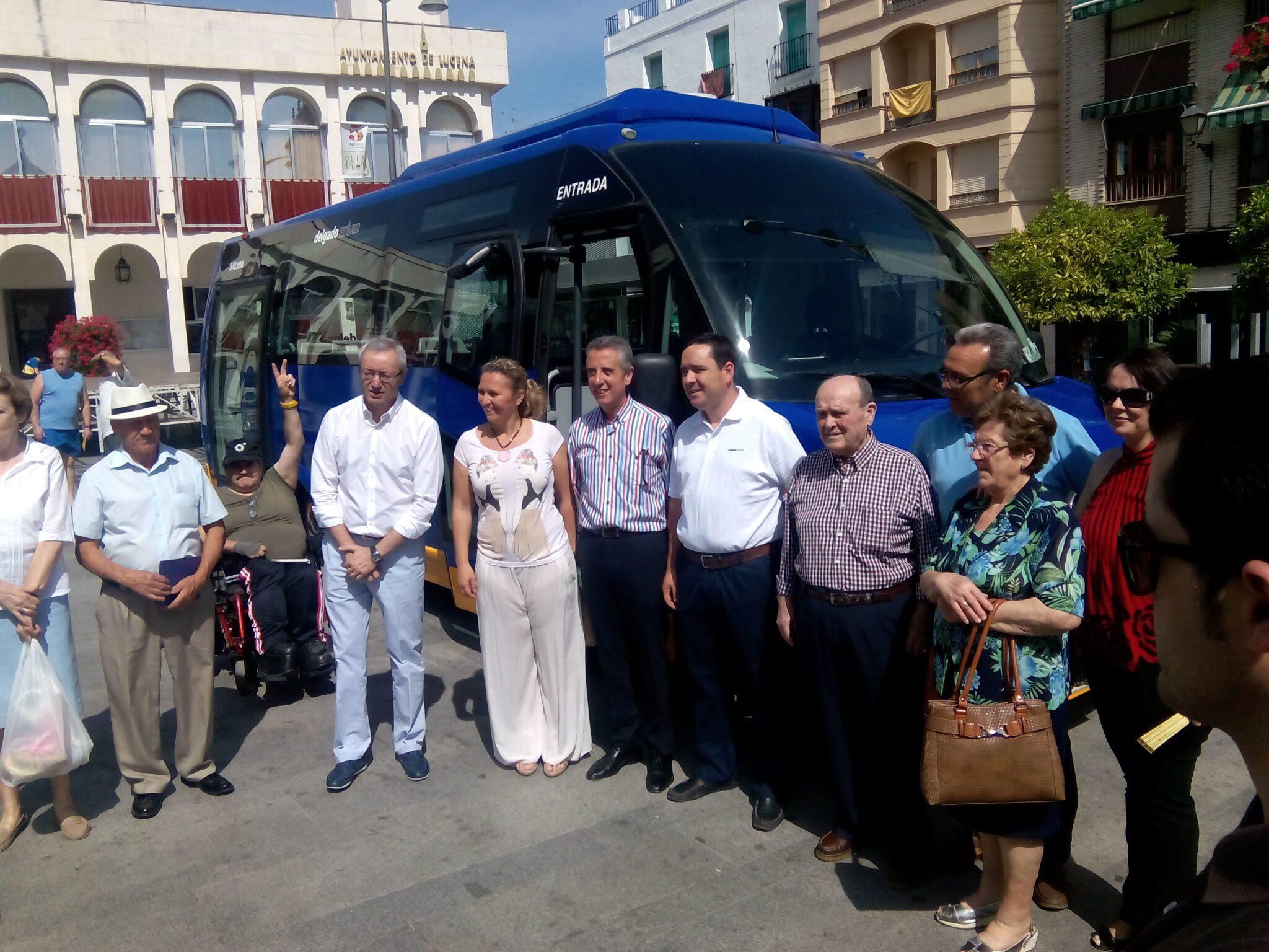 Presentación de la nueva flota de autobuses urbanos