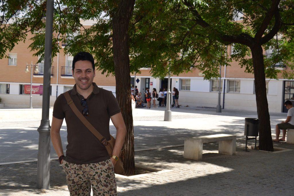 Entrevista con Marcos Serrano en la Semana del Orgullo Gay