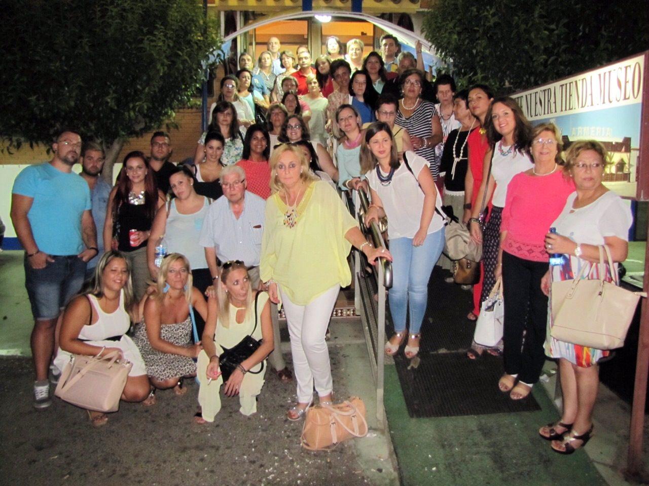 Una excursión de lucentinos en el Progama Salvame