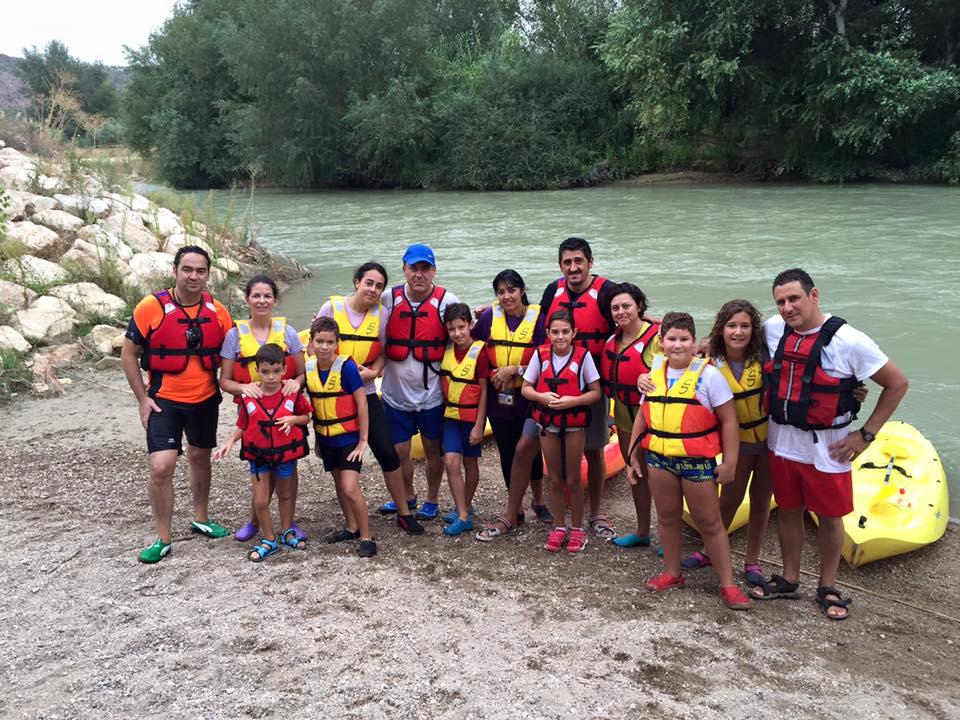 Jornadas deportivas de aventura en piragüa desde Jauja
