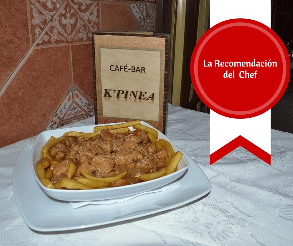 receta la recomendacion del chef