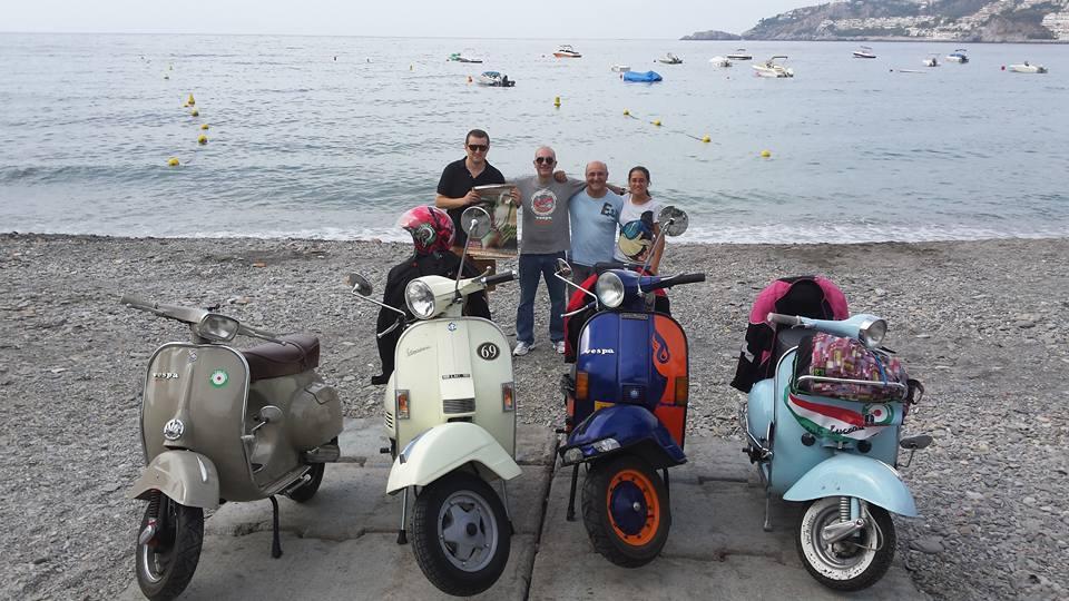 Tres valientes vesperos lucentinos recorren Andalucía