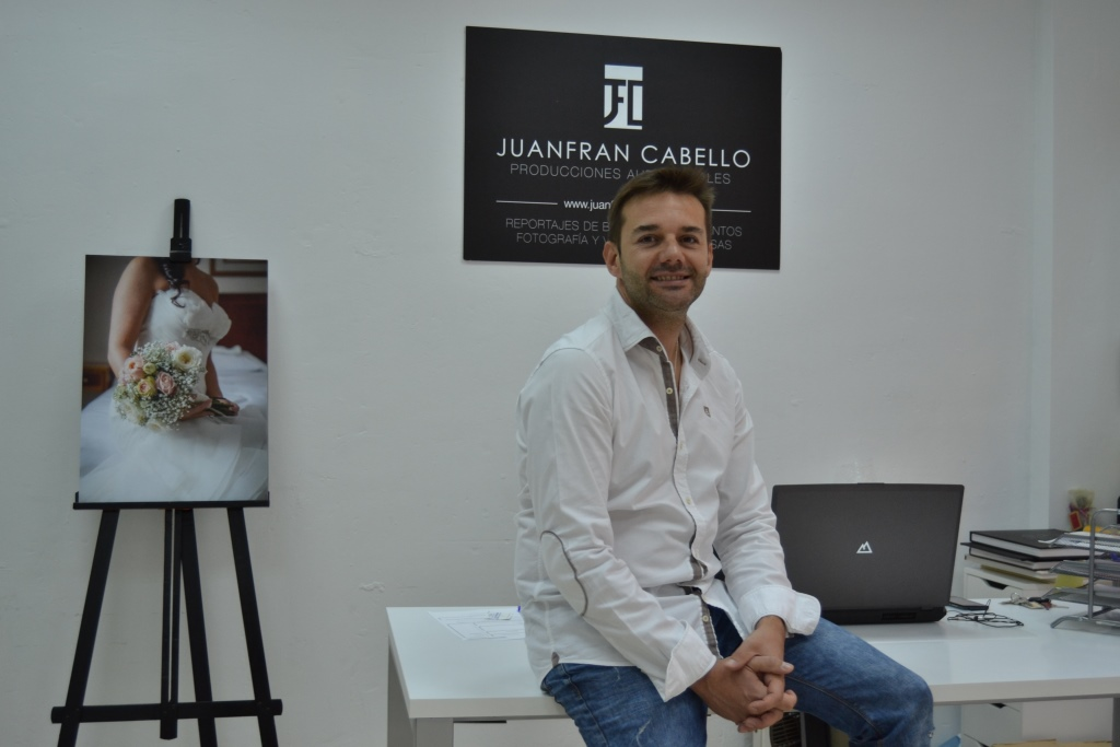 EMPRENDEDORES LUCENTINOS: Juanfran Cabello un fotógrafo diferente.