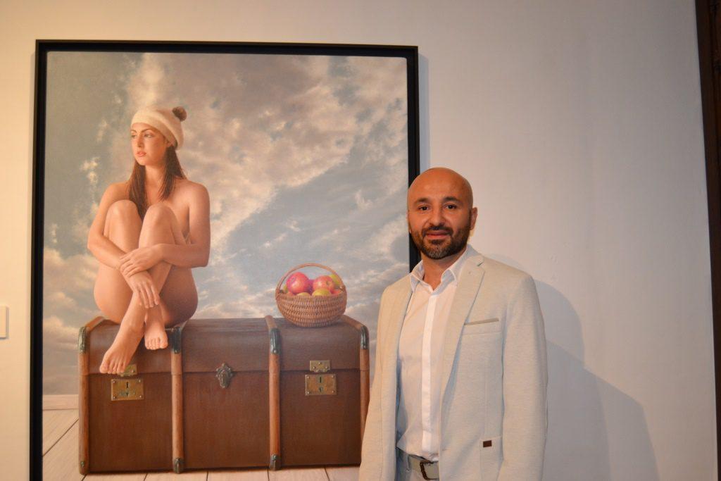 Inauguración «En el Tiempo» del pintor Alexandre Monntoya
