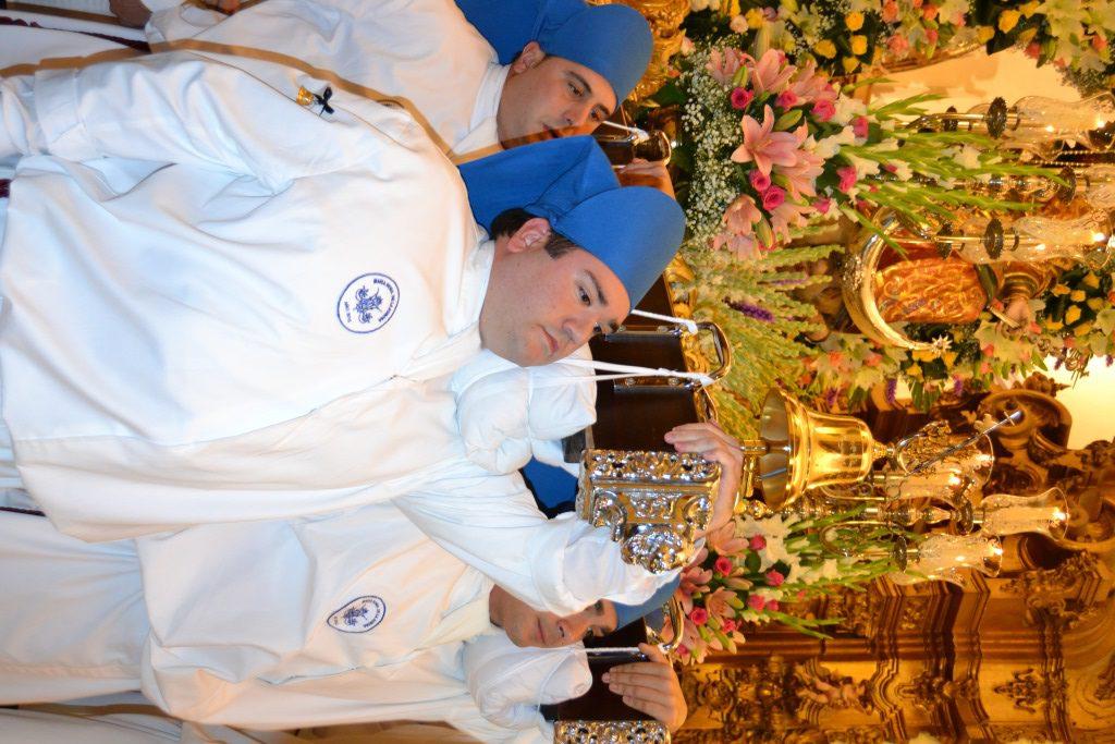 Procesión de la Virgen de la Aurora 2015