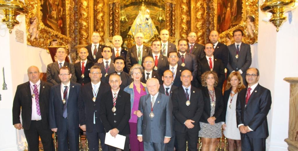 Nuevos cargos de la Junta de Gobierno de la Archicofradía Virgen de Araceli