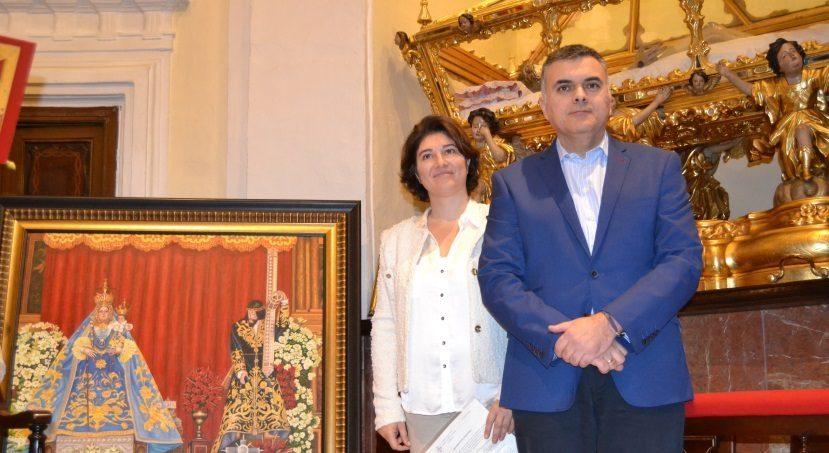 Pilar Montes Luna dona un emblemático cuadro al futuro Museo de Ntro Padre Jesús Nazareno