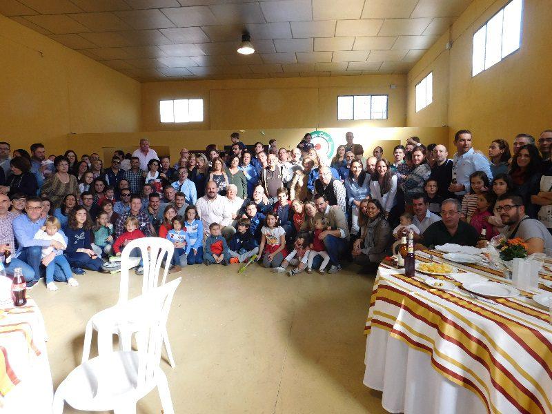 Gran celebración familiar del Vespa Club Lucena