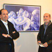 Pepe Lozano y Angela Maldonado inauguran sendas exposiciones artísticas