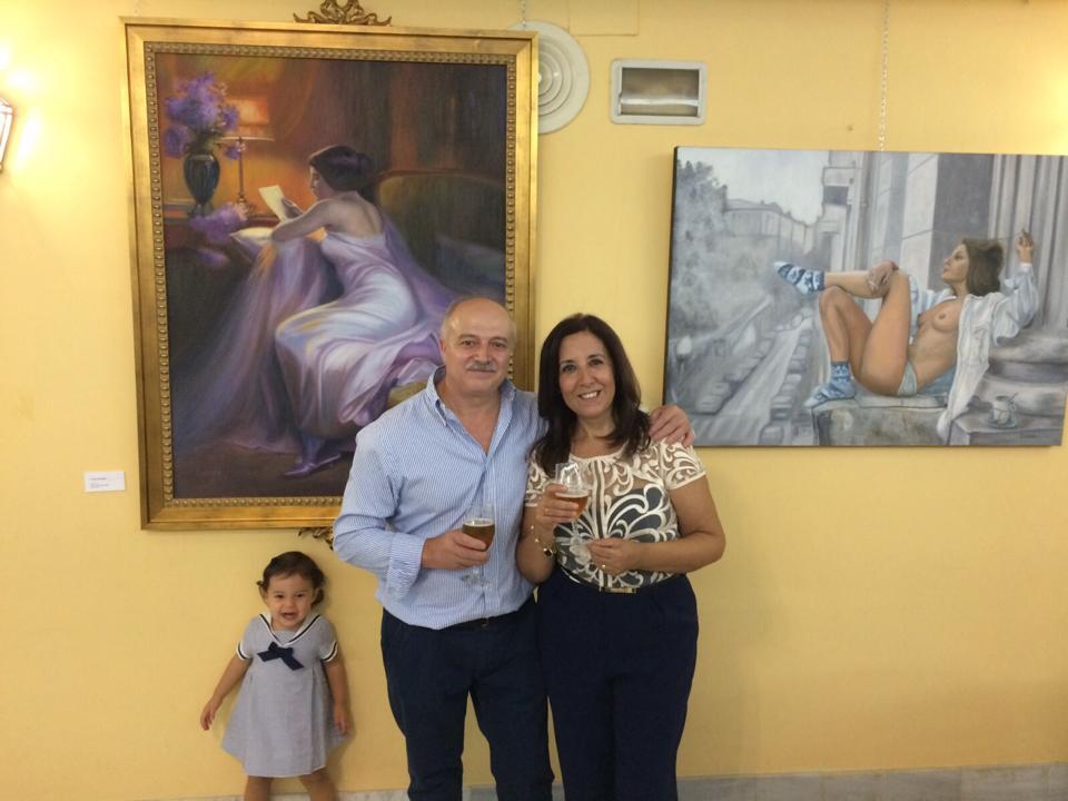 ENTREVISTA: La pintora lucentina Pepa Miranda