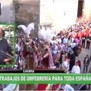 Paula Orfebres este jueves en Andalucia Directo (Video)