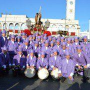 Mañana de Viernes Santo acompañando a Jesús Nazareno 2016