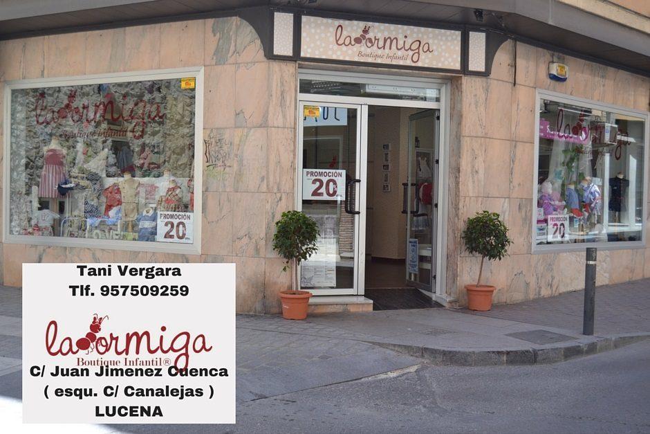 Tani VergaraTlf. 957509259C_ Juan Jimenez Cuenca ( esqu. C_ Canalejas )LUCENA