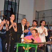Gran noche flamenca en el XIV Festival Curro Lucena