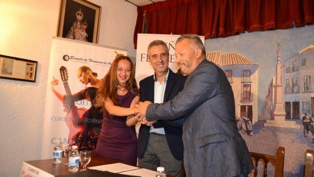 El Centro Ateneo firma un acuerdo con la EFA convirtiendose en Centro profesional de la enseñanza del Flamenco