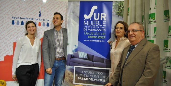 El sector del mueble de Lucena recibirá un gran impulso gracias a la celebración de SURMUEBLE