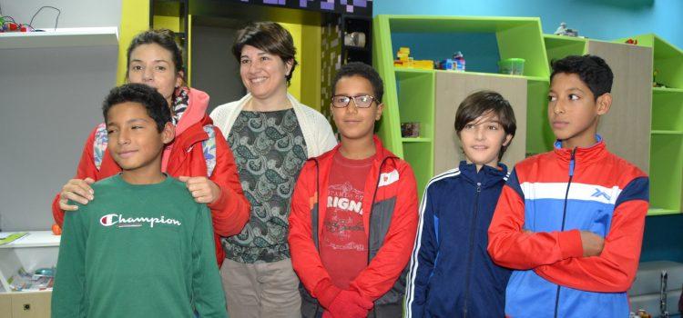 La Fundación Acuarela de Barrios recibe 3 becas en robótica y diseño 3D del Centro Educa Genios
