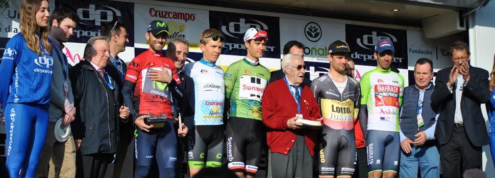 Estuvimos en la Vuelta Ciclista a Andalucia a su paso por Lucena