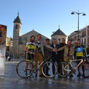 Alberto Contador y Alejandro Valverde en la Contrareloj que se disputará en Lucena con la Vuelta Ciclista a Andalucia