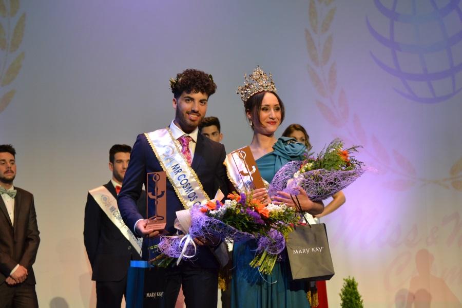 Sandra Burgos y Alberto Pérez ganadores de Miss & Mister Cosmos Córdoba 2017