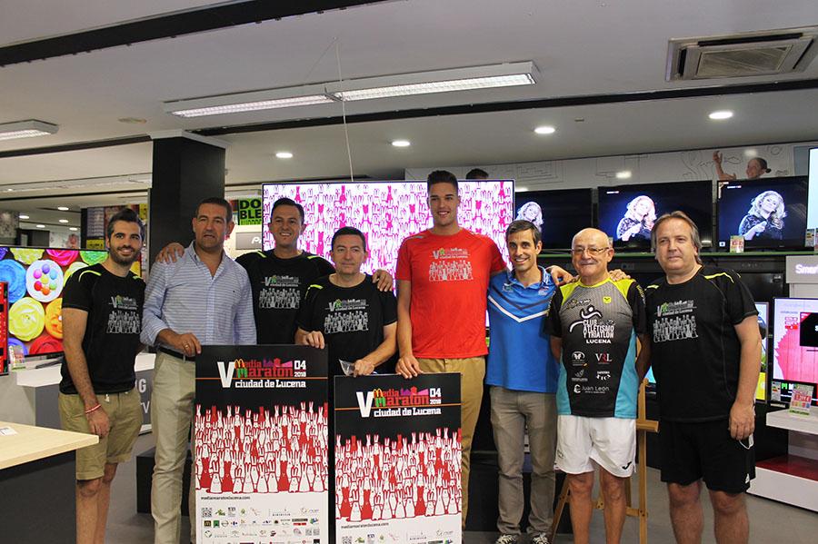 Lucena presenta la V Media Maratón con el reto de alcanzar los 1.250 corredores