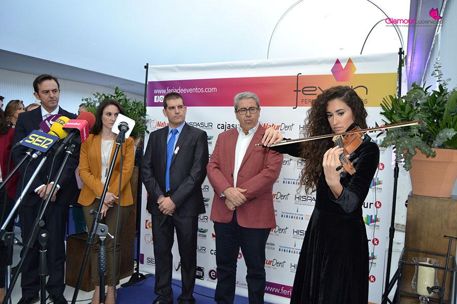 Asistimos a la Inauguración de FEVEN Feria de Eventos de Lucena