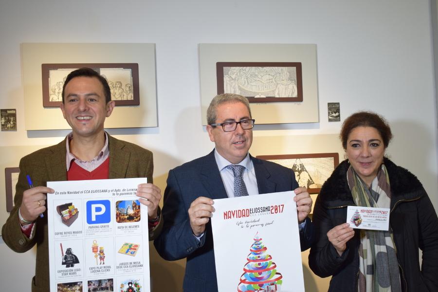 El Centro Comercial Abierto de Lucena presenta 'Navidad Eliossana Lucena'