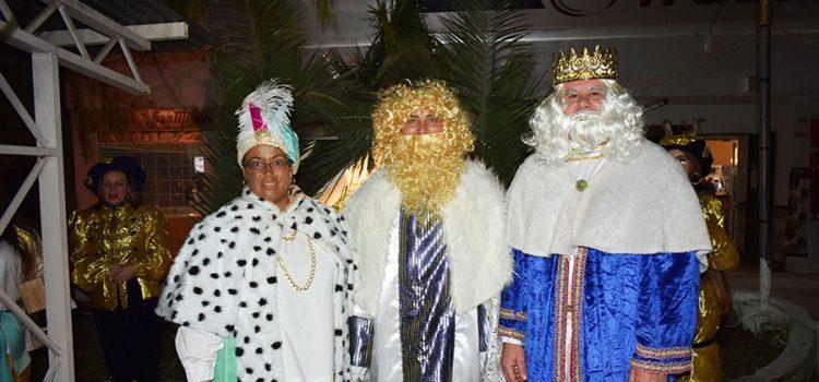 Llegó la Cabalgata de Reyes Magos del Cristo Marroquí