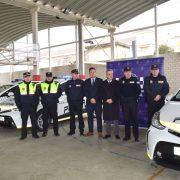 Se presentan cuatro nuevos coches híbridos adquiridos para la Policia Local de Lucena