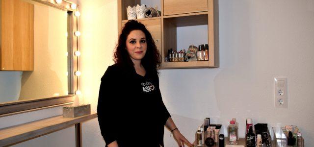 EMPRENDEDORES LUCENTINOS Visitamos la nueva Escuela de Maquillaje de Mari Egea