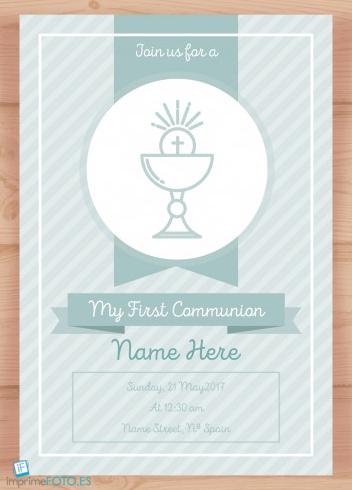 primera comunión recordatorio 2