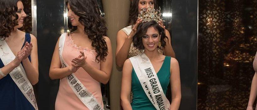 La lucentina Belén del Pino coronada Miss Grand Andalucía 2018