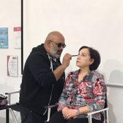 El  famoso maquillador Lewis Amarante visita HairTopelg Lucena