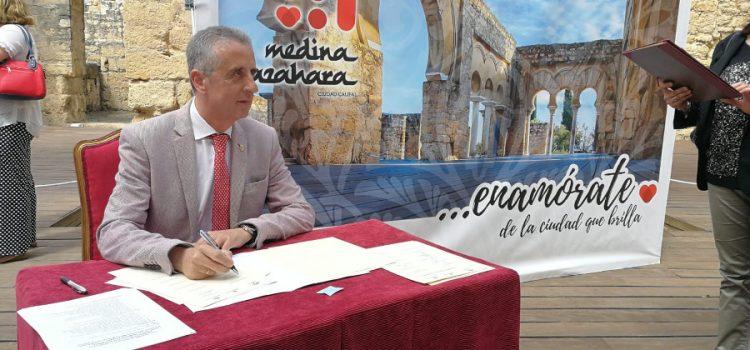 El Ayuntamiento de Lucena muestra su apoyo a la candidatura de Medina Azahara como Patrimonio Mundial de la Unesco