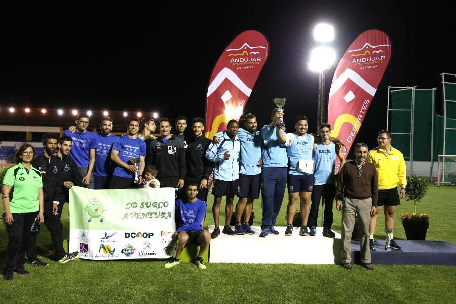 El CD Surco Aventura logra el Subcampeonato de Andalucía en Andújar