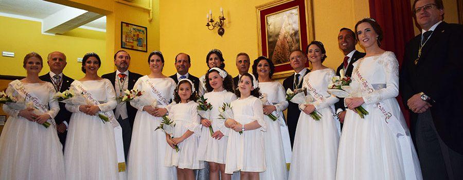 Comienzan las fiestas con la Proclamación de la Corte Aracelitana 2018