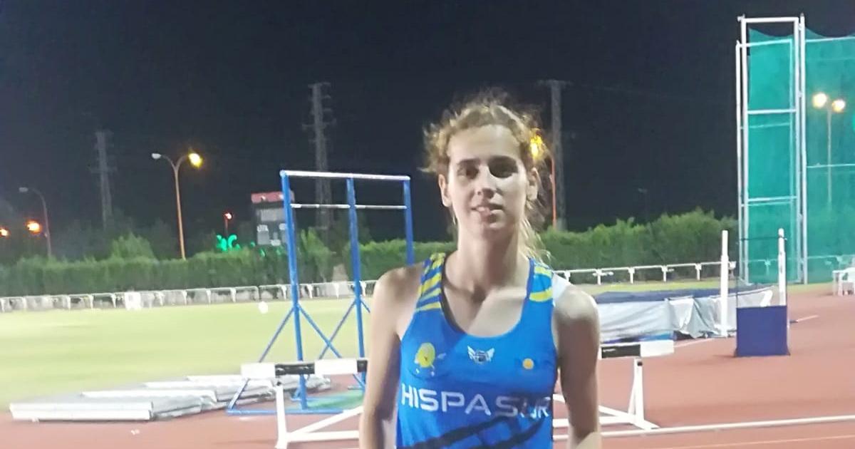 La atleta lucentina Ana López Flores llego a semifinales en los campeonatos de España Sub20 celebrado en Murcia