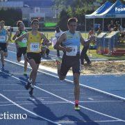 El atleta lucentino Francisco Ramírez Osuna consigue una medalla de plata en los campeonatos de Andalucía Sub18