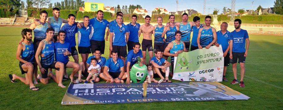 El C.D. Surco Aventura logra la machada, ascendiendo a la máxima categoría del atletismo español con un pleno de victorias en sus encuentros.