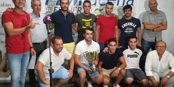 Se hace entrega de los premios de la Liga Naturdent