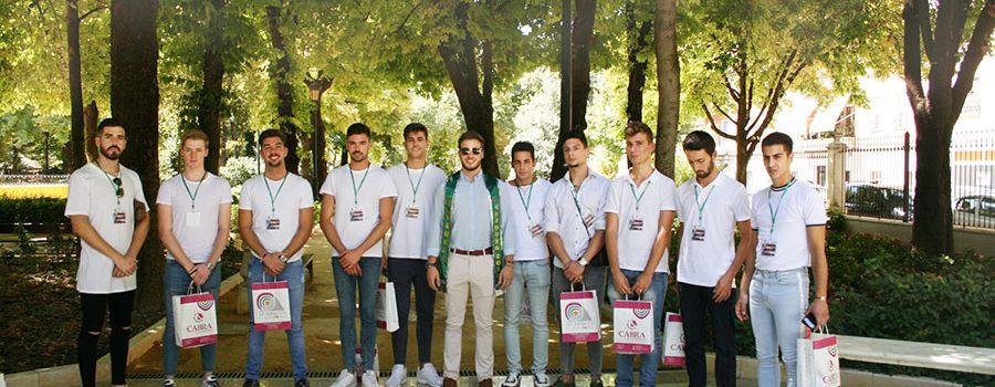 Los candidatos de Mister Global Córdoba hacen una visita oficial a la ciudad de Cabra