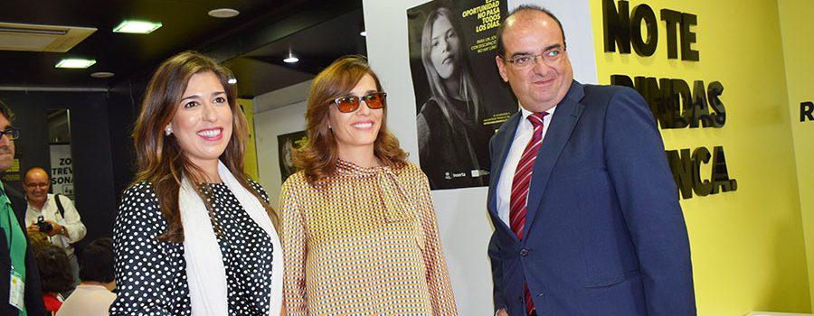 La fundación ONCE trae a Lucena un roadshow informativo de empleo para las personas con discapacidad