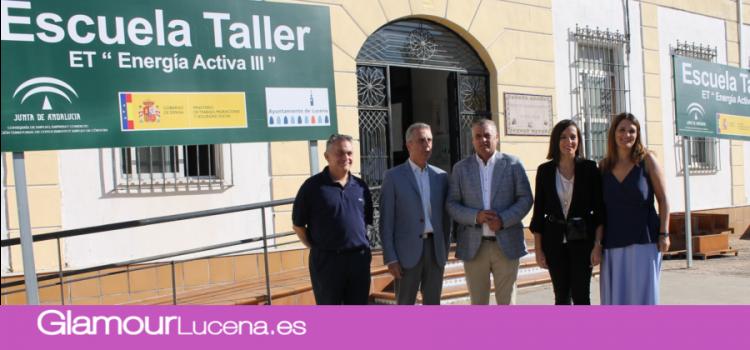 Empleo destina 675.000 euros para que 45 jóvenes desempleados de Lucena