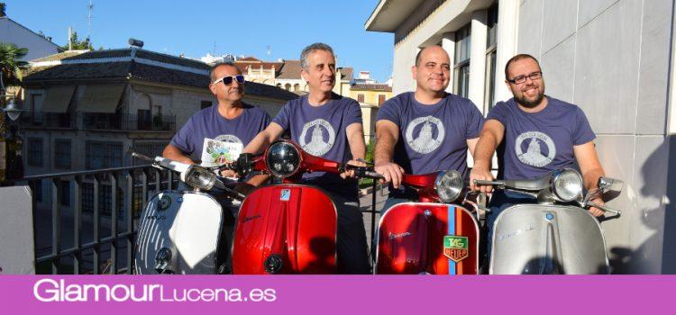 La 8ª Ruta Subbética en Vespa se celebra con más de 780 inscritos este fin de semana en Lucena